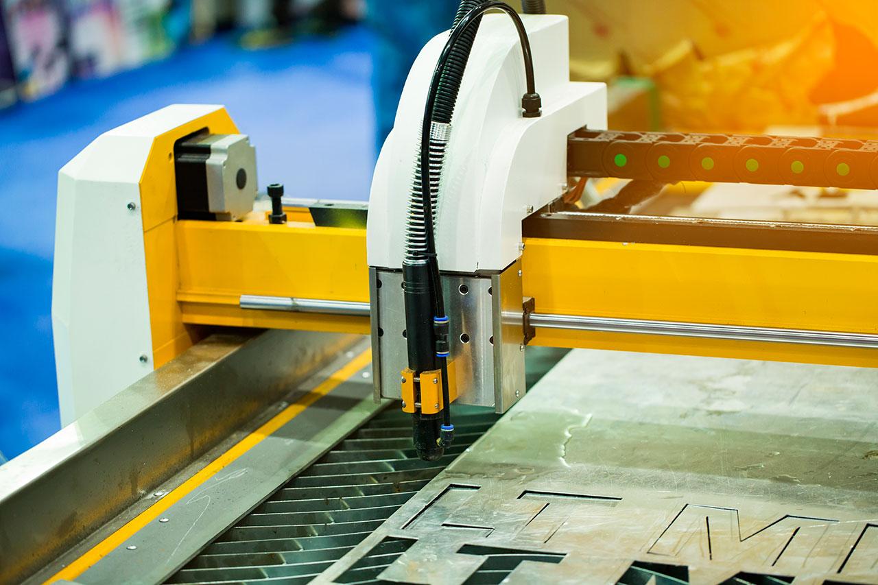 Corte laser de aluminio